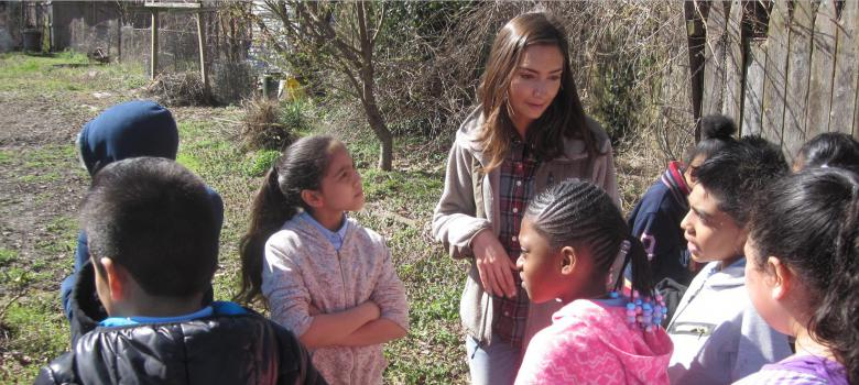 Isles' Community Food Coordinator teaches kids how to eat healthy
