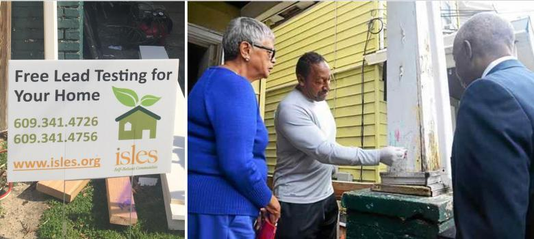 Isles conducts free lead testing with Mayor Jackson and Congresswoman Watson Coleman
